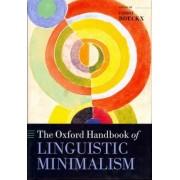 The Oxford Handbook of Linguistic Minimalism by Cedric Boeckx