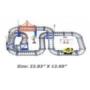 I.Valux Highway Tracks Electric Car Rail Set Cars Su Vs Thomas The Train Track