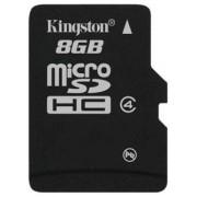 Kingston microSDHC 8GB (Class 4) (SDC4/8GBSP)