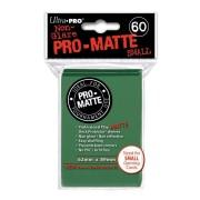 Accessoires - Protèges Cartes Format Jap - Sleeves Ultra-Pro Mini Par 60 Vert Foncé Matte
