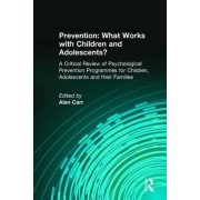 Prevention: What Works with Children and Adolescents? by Alan Carr