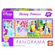 Educa Disney Hercegnők panoráma puzzle, 100 darabos