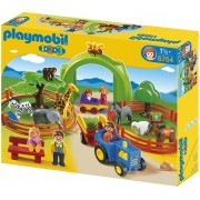 Playmobil 6754 - Coffret Grand Zoo 1.2.3