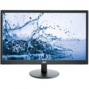 "MONITOR AOC 24"" LED, 1920X1080, MAI PUTIN DE 1MS 250CD/MP VGA+DVI+HDMI E2460SH"