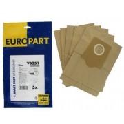 Bosch Type G sacs à poussière en Microfibre, Lot de 5