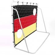 Zelsius - Fußballtor, Torwand, 210 x 150 cm, Motiv: Deutschland