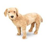 Melissa & Doug Giant Yellow Labrador - Lifelike Stuffed Animal Dog (nearly 0.5 meters tall)
