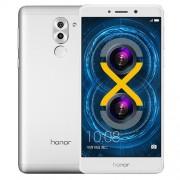 Huawei Honor 6X BLN-AL10 4GB+64GB Dual Rear Camera Fingerprint Identification 5.5 inch Android 6.0 Kirin 655 Octa Core 2.1GHz Network: 4G(Silver)