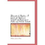 Elements of Algebra by William James Milne