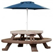 Little Tikes Endless Adventures Fold 'n Store Umbrella Picnic Table 632433M