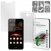 Conjunto de Protecção 4smarts 360 para Huawei Y6II - Transparente