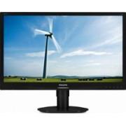 Monitor LED 22 Philips 220S4LYCB WSXGA+ 5 ms Negru