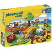 Playmobil 1.2.3 Prado con Animales