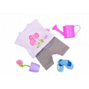 Zapf Creation 812938 Baby Born - Conjunto de ropa y accesorios para muñeco motivo jardinería