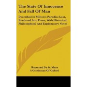 The State of Innocence and Fall of Man by Raymond De St Maur