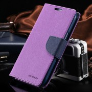 Korean Mercury Fancy Diary Case for Samsung Galaxy Note 4 - Purple