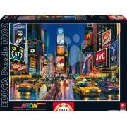 Educa Puzzle Neon Times Square 1000 de piese 13047 colorat