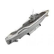 Revell - 05133 - U-boat Allemand-sous Marin - Type Ix C/40 - 183 Pièces -echelle 1/72