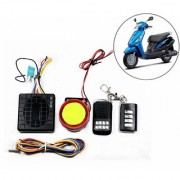 Capeshoppers Yqx Ultra Small Anti-Theft Security Device And Alarm For Suzuki Swish 125 Scooty