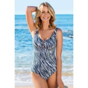 Womens Quayside Ring Swimsuit - Black