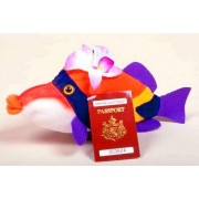 Hawaiian Humu Fish Plush Collectible Toy by Hawaiian Collectibles