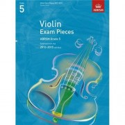 ABRSM Publishing ABRSM: Selected Violin Exam Pieces Grade 5 Book Only (2012-2015). Partituras para Violín, Acompañamiento de Piano