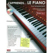 Other French Publishers J'Apprends Le Piano...Tout Simplement - Partitions, CD