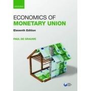 Economics of Monetary Union by Paul De Grauwe