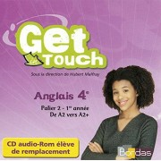 BORDAS Get in touch 4e CD audio ROM PC