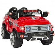Cars Toys Premium 12 V Mp3 Kids Ride On Truck Car R/C Remote Control, Led Lights, Aux And Music Color Red Great Fun For Your Child 100% Guaranteed!