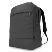 POFOKO 15.6 inch Dual Shoulders 2-Layer Quality Fabric Waterproof Backpack Bag for Laptop Notebook(Black)