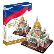 Saint Isaac's Cathedral 3D Puzzle. St. Petersburg Russia Beautiful Elegant Decoration for Home/Office