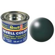 Revell 32365 RAL 6000 - Bote de pintura (14 ml), color verde oscuro satinado mate