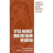 Optical Imaging of Brain Function and Metabolism: Proceedings of a Symposium Held in Garmisch-Partenkirchen, Germany, October 21-22, 1991 by Ulrich Dirnagl