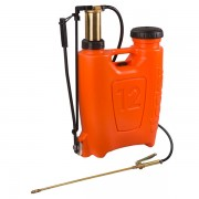 Pompa manuala de presiune tip rucsac 12 litri cu piston si lance din bronz