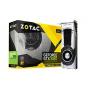 Zotac GeForce GTX 1080 Founders Edition Scheda Video ZT-P10800A-10P Scheda Grafica, Nero