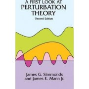 A First Look at Perturbation Theory by James G. Simmonds