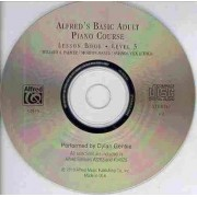 Alfred's Basic Adult Piano Course CD for Lesson Book by Willard A Palmer