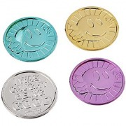 Oriental Trading Company I Was Caught Being Good! Plastic Coins- Bulk (144 Piece)
