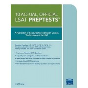 10 Actual, Official LSAT Preptests by Law School Admission Council