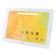 Tablet Acer Iconia B3-A30-K32D WiFi/10.1 IPS (HD 1280 x 800), MTK MT8163 quad-core Cortex A53/1GB/16GB eMMC, Cam (2MP front, rear 5 MP 1080p FHD)/G-sensor, Micro USB, microSD™, Android™ 6.0 (Marshmallow), White