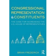 Congressional Representation and Constituents by Brian Frederick