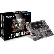 Carte mre Mini ITX J3160DC avec Processeur Intel Celeron J3160 - 4 x SATA 6 Gb/s - USB 3.0 - port pour alimentation