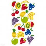 Výseky z pěnové gumy ovoce 20ks KSPI-026