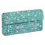 "Glamour World Bag ""cosmetic"" aqua silver GB260-92"