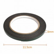 Generic 5M Strong Waterproof Adhesive Double Sided Foam Tape Car Trim Plate Width 6Mm