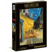 Puzzle 1500 piese muzeum van gogh caffe terrace at night clementoni 31667