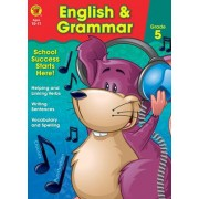English & Grammar Workbook, Grade 5 by Brighter Child