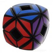 Irregular Hollow Pan Estilo cubo magico IQ - Negro + Multicolor