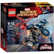 Marvel Super Heroes - Carnage's Shield luchtaanval